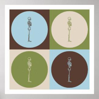 Pop Art Chiropractic Poster
