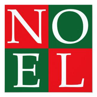 Pop Art Christmas NOEL Card