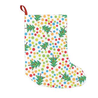 pop art christmas tree skirt small christmas stocking