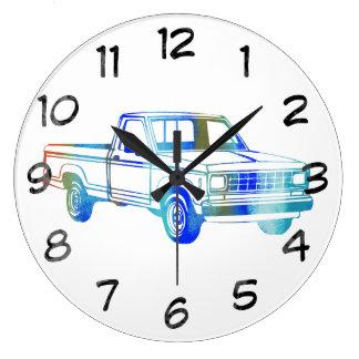 Pop Art Classic Car Clock