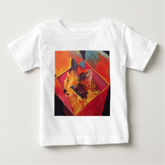 POP ART COLORFUL CAT BABY T-Shirt