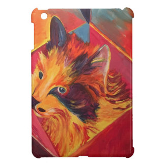 POP ART COLORFUL CAT iPad MINI COVER