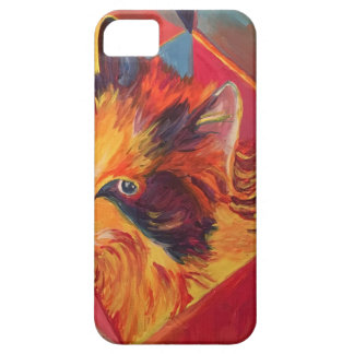 POP ART COLORFUL CAT iPhone 5 CASE