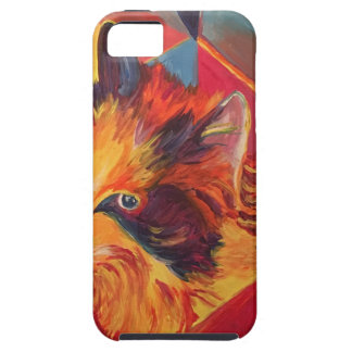 POP ART COLORFUL CAT iPhone 5 COVER
