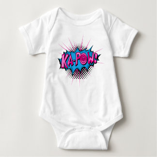 Pop Art Comic Ka-Pow! Baby Bodysuit
