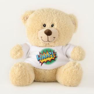 Pop Art Comic Style Explosion Teddy Bear