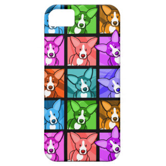 Pop Art Corgi iPhone 5 Case