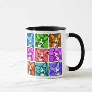 Pop Art Corgi Mug