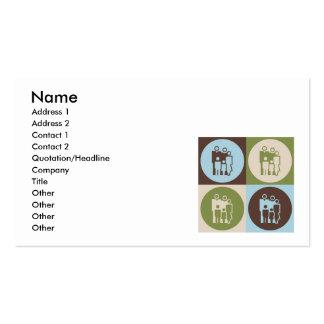 Pop Art Counseling Business Card Templates