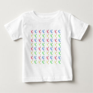 Pop Art Cut out Guinea pig Pattern Baby T-Shirt