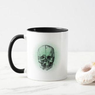 Pop Art Da Vinci Skull Mug