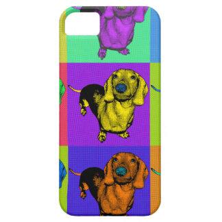 Pop Art Dachshund Panels iPhone 5 Cover