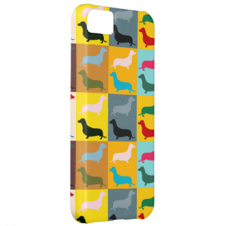 Pop Art Dachshunds Case For iPhone 5C