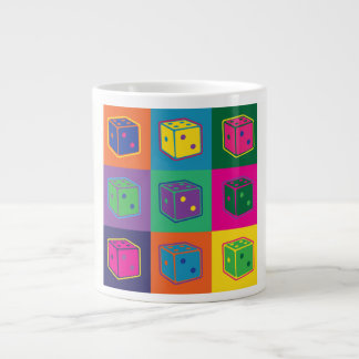 Pop-art Dice Mug