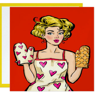 Pop Art Dinner / Cooking / Food Event Invitation