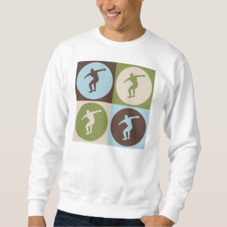 Pop Art Discus Sweatshirt