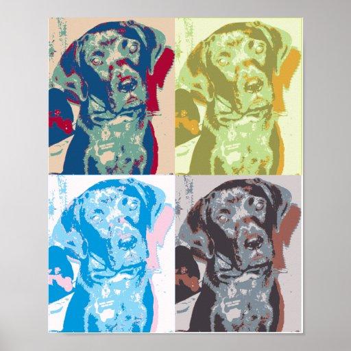 Pop Art Dog Print