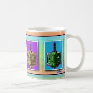 Pop Art Dreidels Cup or Mug