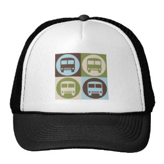 Pop Art Driving a Bus Hat