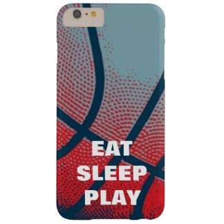 Pop Art Eat Sleep Play Basketball Motivational Barely There iPhone 6 Plus Case
