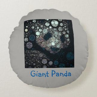 Pop Art Giant Panda Round Pillow
