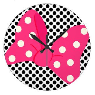 Pop Art Girly Clock