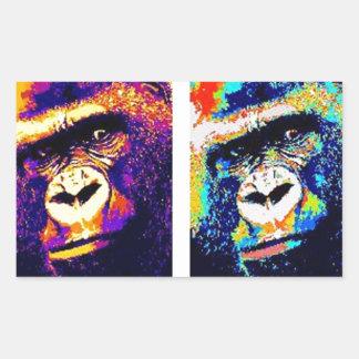 Pop Art Gorillas Sticker