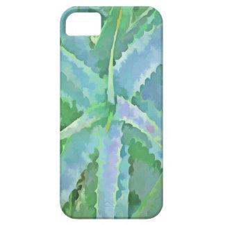 Pop Art Grey Green Aloe iPhone 5 Cover