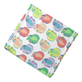 Pop Art Guinea Pig Pattern Bandana