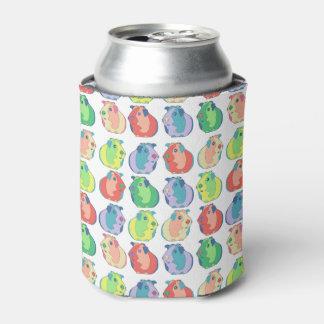 Pop Art Guinea Pig Pattern Can Cooler