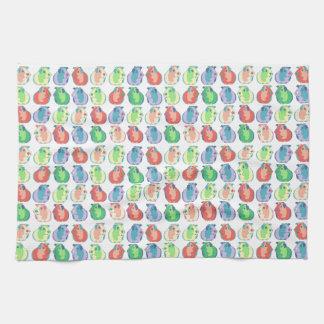 Pop Art Guinea Pig Pattern Kitchen Towel