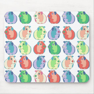 Pop Art Guinea Pig Pattern Mouse Pad