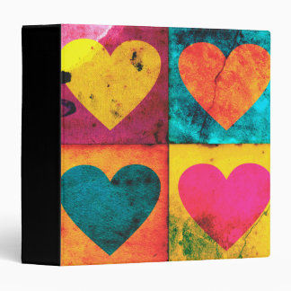 Pop Art Heart Binder