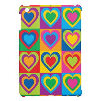 Pop Art Hearts Cover For The iPad Mini