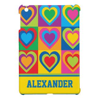 Pop Art Hearts iPad Mini Covers