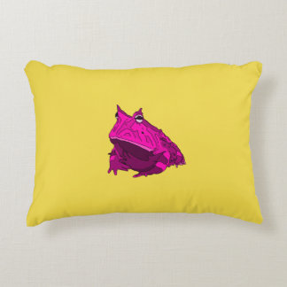 Pop Art Horny Frog Pillow