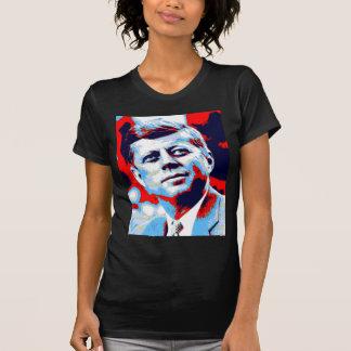 Pop Art JFK John F. Kennedy Red Blue T-Shirt