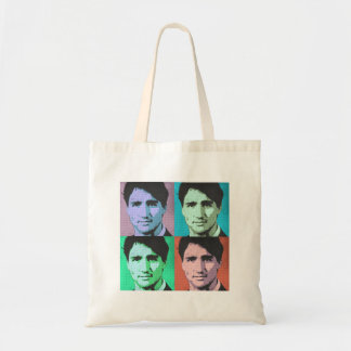 Pop Art Justin Trudeau - Full Size 2-.png Budget Tote Bag