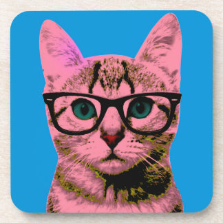 Pop Art Kitten Coaster