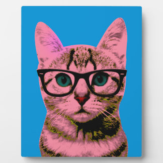 Pop Art Kitten Plaque