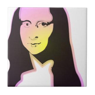 Pop Art Lisa Tile
