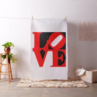 pop art love fabric
