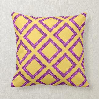 Pop Art Magenta Pillow! Throw Pillow