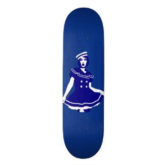 Pop Art - Maritime sexy Seemannsbraut Skateboards