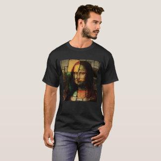 Pop Art Mona Lisa Dark T-Shirt