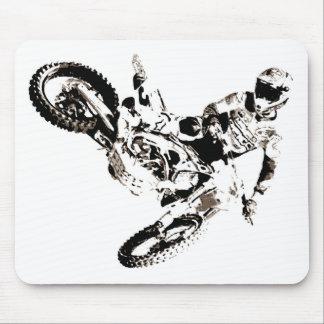 Pop Art Motocross Motorcyle Sport Mouse Pad