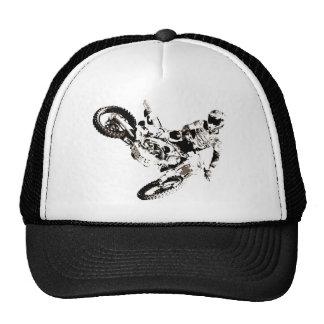 Pop Art Motocross Motorcyle Sport Trucker Hat
