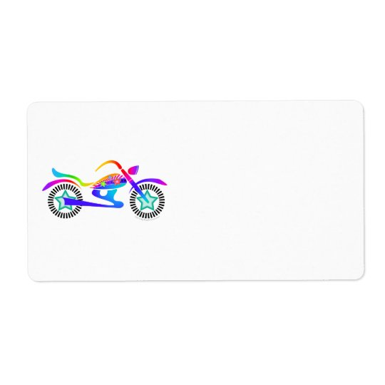 Pop Art MOTORCYCLE Return, Address or Shipping Ave