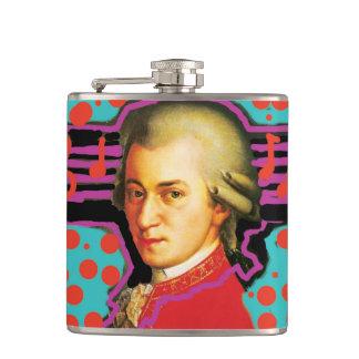 Pop art Mozart flask