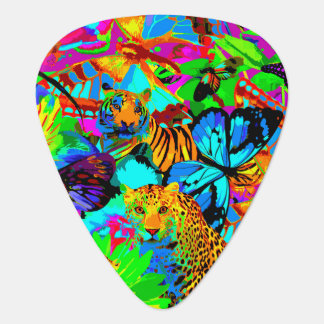 Pop Art Nature Guitar Pick